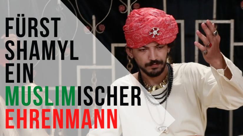 Muslim Fürst Shamyl